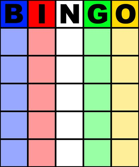 6 x 6 bingo card template editable blank bingo card image photo bingo template excel blank
