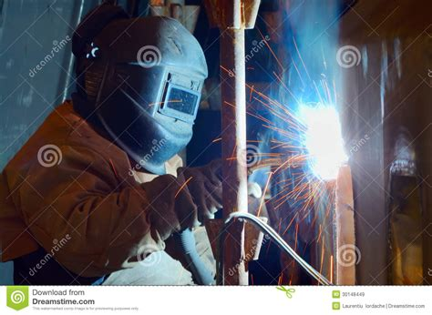 Shipyard Welding by A Welder Working At Shipyard Royalty Free Stock Images Image 30148449