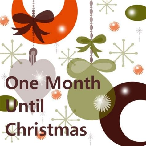 one month until christmas canada have you started shopping