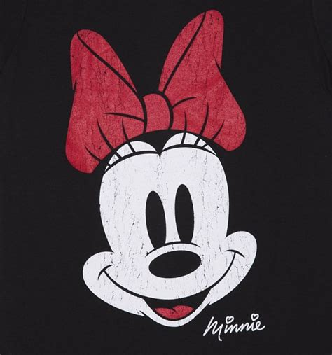 Tshirt Baseball Minie Series Crop T Size Xl Ld 100cm s black disney vintage distressed minnie mouse t shirt
