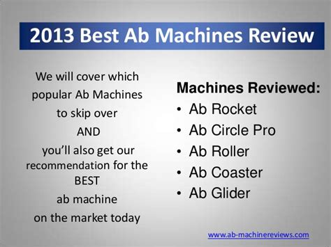 Must Ab Coaster Ad Rocket Six Pack 2013 ab machines review
