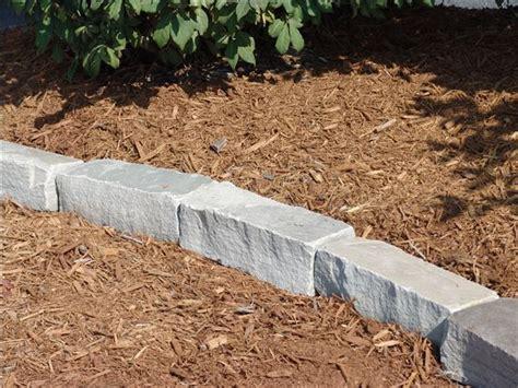 Landscape Edging Grey Confederate Gray Tumbled Edging Semco Outdoor