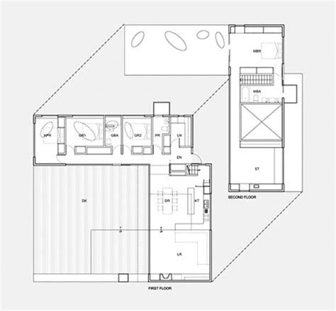 l shaped house plans modern two story l shaped house plans house design pinterest