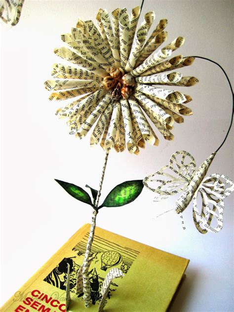 libro painting flowers malena valc 225 rcel original art libro intervenido libro de artista altered book flores en mi