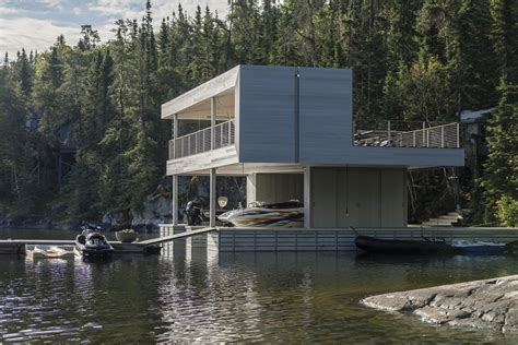 boat house gallery gallery of boathouse cibinel architecture 4