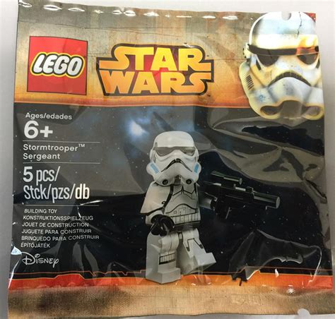 Lego Wars Stormtrooper Sergeant Polybag lego stormtrooper sergeant minifigure polybag at toys r us