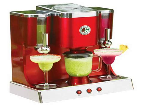 appliances jimmy buffet margarita machine with red