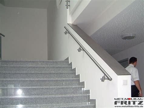 treppengel nder handlauf edelstahl handlauf edelstahl innen metallbau schult berlin sportst