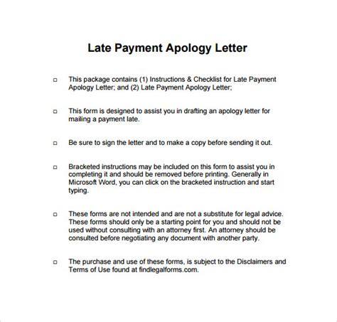 apology letter vendor late payment how to write apology