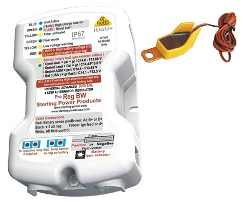 sterling power proreg bw waterproof advanced alternator