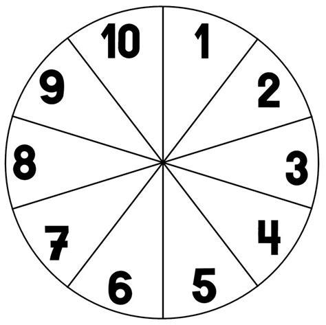 printable number wheel 1 10 clothespin number wheels preschool 171 preschool and homeschool