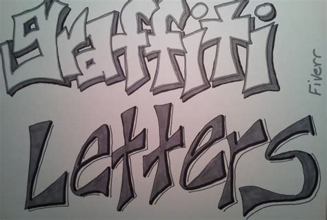 Graffiti Words To Draw Draw Words Graffiti Style Really Fast Fiverr
