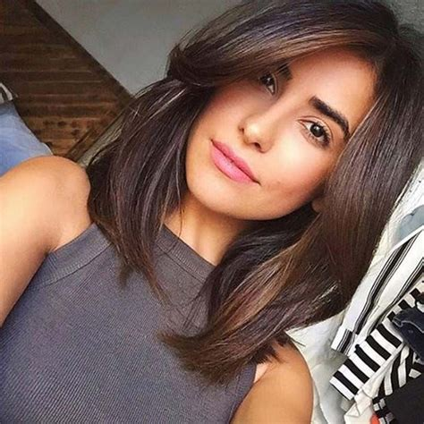 medium layered face framing haircuts 31 lob haircut ideas for trendy women face framing
