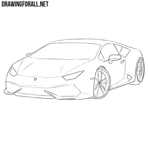 how to make doodle on 100 lamborghini sketch side view drawing