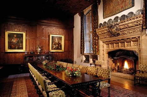 Castle Dining Room by Hever Castle And Gardens Kent Attractions