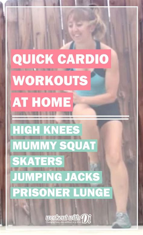 cardio workouts at home