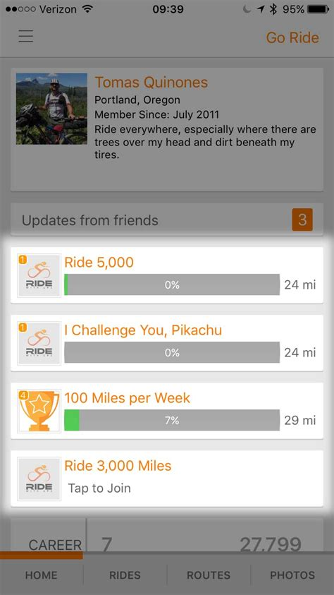 mobile goal goals ride with gps help