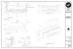 Reception Desk Plan Woodwork Reception Desk Construction Details Pdf Plans