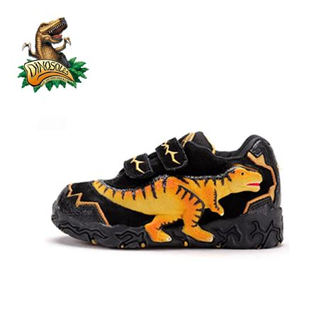 Sepatu Led Velociraptor 3d Led Dinosaurus Boy Footwear Sneakers dinosoles tyrannosaurus 3d led dinosaur s boy fashion footwear sneakers running shoes