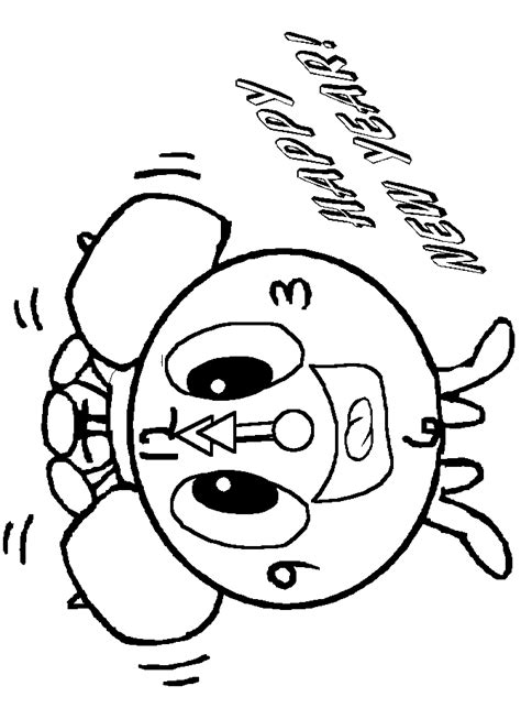 coloring book 2 year new year coloring pages 2 coloring