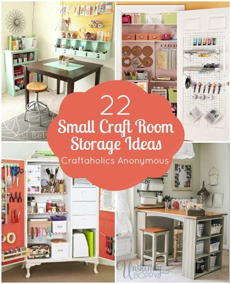 craftaholics anonymous 174 small craft room storage ideas - Craft Room Ideas For Small Rooms