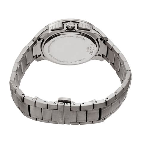 Tissot Titanium Chronograph T0694174406100 t sport chronograph t0694174406100 tissot touch of