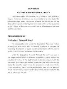 Research Methodology Example Dissertation Thesis Chapter 2 Amp 3 Final