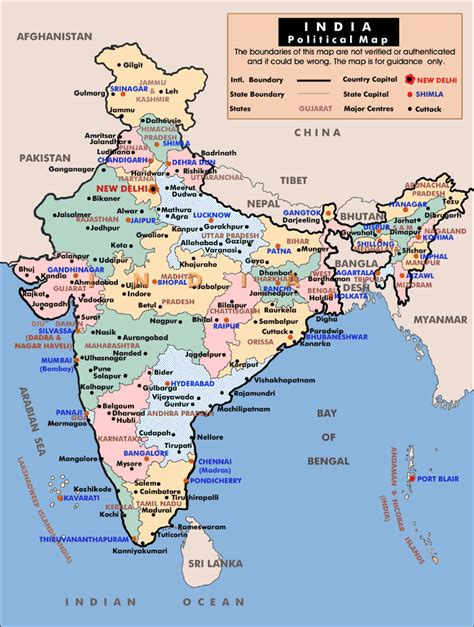 map india political maps of india