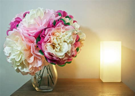 Make Your Own Paper Flowers - make your own tissue paper flowers with our tissue paper