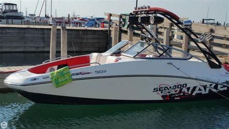 ski wake boats for sale 2011 used sea doo 230 wake ski and wakeboard boat for sale
