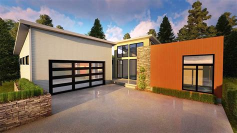 House Plans With Lots Of Glass by Contemporary Home With Lots Of Glass 62535dj