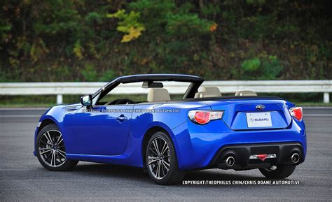 subaru convertible changes to the 2014 subaru brz autos post