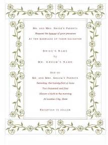 wedding invite template wedding wedding invitation templates