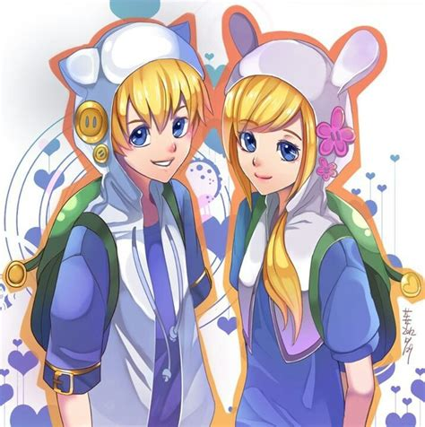 imagenes version anime anime version adventure time with finn and jake