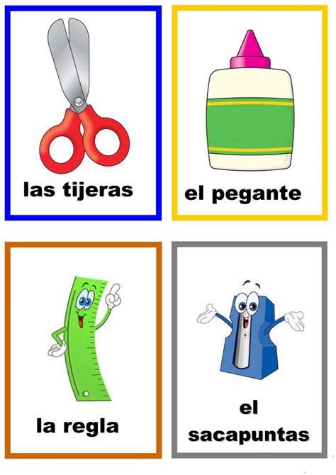 imagenes de objetos de utiles escolares 218 tiles escolares trabajos hojas de trabajo de ele gratuitas
