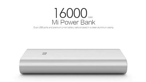 Power Bank Mi 16000 Mah top 5 best power banks rs 1500 in india