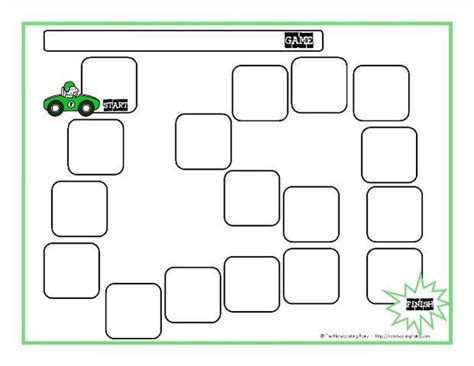 best printable board games blank board game template free premium templates
