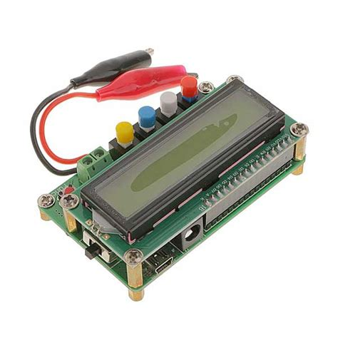inductance meter ne555 lc100 a function type lcd inductance capacitance meter lc meter module direct voltage