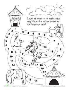 printable circus activity sheets circus classroom theme on pinterest circus theme
