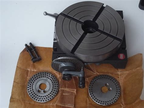 Sip Home Emco Maximat V10 P Or Fb 2 Rotary Table 248 150mm Nos Niels