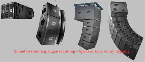 Speaker Gantung sound system lapangan gantung box speaker line array rigging