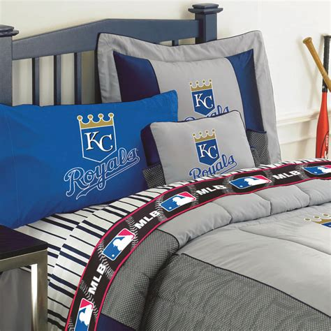 mlb bedding kansas city royals mlb authentic team jersey pillow