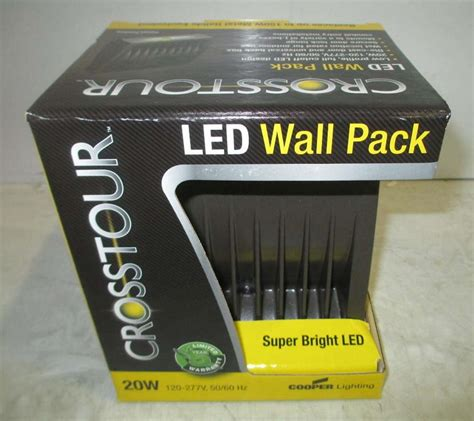 cooper lighting lumark crosstour led wall pack xtor2a pc1