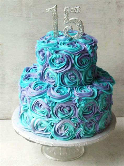 Blue & Purple Floral Cake  Fresh Cream Cake Home Delivery