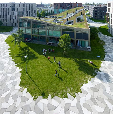 park design   high density housing area interiorzine