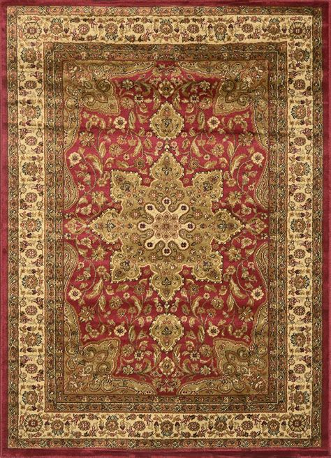 Large Medallion 8 X 11 Persian Area Rug Border Carpet Area Rugs 8