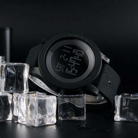 Skmei Sport 1142 Original Water Resistant 50m Hitam Purple skmei 1142 led digital sports wrist watches black 2pcs 1 x cr2025 free shipping dealextreme