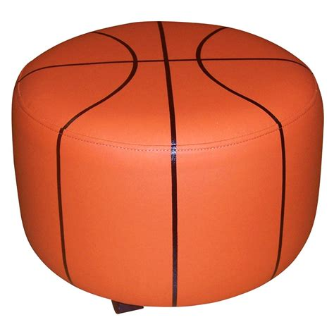 basketball chair and ottoman basketball ottoman s big boy room