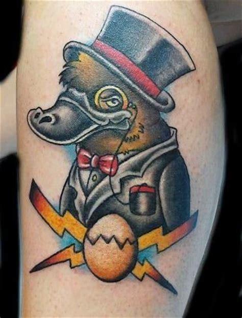 platypus tattoo pin by brent merrill on tattoos ink