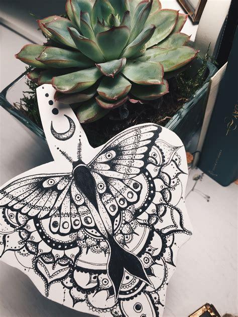 moth tattoo designs moth design mandala henna moon dotwork
